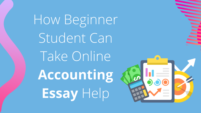 How beginner student can take online accounting essay help